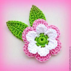 Crochet Butterfly Pattern, Crochet Flower Hat, Crochet Daisy, Crochet Cactus, Crochet Flower Tutorial, Crochet Motif, Applique Patterns, Knitting Patterns, Crochet Patterns