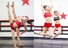 Maddie and Kendall in Dance Spirit Magazine!