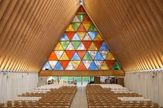 The Transitional 'cardboard' Cathedral, Christchurch, 2013 - Shigeru Ban…