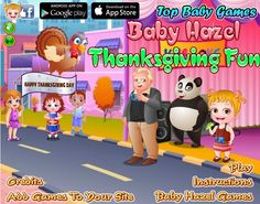 Baby Hazel and family have planned to celebrate Thanksgiving Day at her grandparents' house. Can you help Hazel and granny in completing the preparations for Thanksgiving Day? http://www.topbabygames.com/baby-hazel-thanksgiving-fun.html