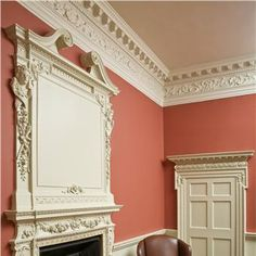 Top 10 paint colors for fall. Discover and try the top ten paint colors for fall Try Behr, Valspar, HGTV Home by Sherwin-Williams, Benjamin Moore, Farrow & Ball and Ralph Lauren Paint. For more paint and color trends go to Domino. Farrow Ball, Farrow And Ball Paint, Room Colors, Wall Colors, Paint Colors, Red Interiors, Colorful Interiors, Design Interiors, Farrow And Ball Living Room