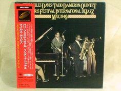 CD/Japan- MILES DAVIS In Paris Festival International De Jazz w/OBI RARE MINI-LP #Bebop