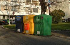 Portugal recycling bin photo
