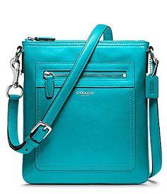 Coach Legacy Leather Swingpack Dillards #bags, #fashion, #pinsland, https://apps.facebook.com/yangutu