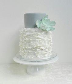 Wedding Ideas: Mint Green, Gray, and Ivory Wedding Theme