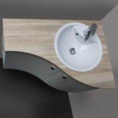 Découvrez notre offre spéciale : un meuble de salle de bain d'angle pour 590 euros au lieu de 907 euros !