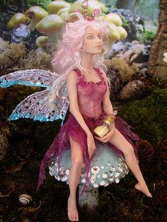 Amazing polymer clay fairy