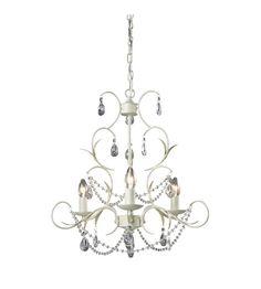 Lighting New York | Sterling Industries Chandelier in Antique White 123-005