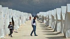 Refugiados sirios en un campo de Turquía. Estados Unidos ha destinado más de US$1.000 millones en 2015 para ayuda humanitaria a los refugiados sirios.