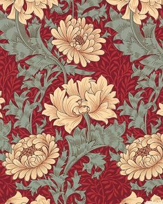 43 Ideas Design Art Nouveau William Morris For 2019 Arts And Crafts Storage, Arts And Crafts For Teens, Art And Craft Videos, Arts And Crafts House, Easy Arts And Crafts, Arts And Crafts Projects, William Morris Wallpaper, William Morris Art, Morris Wallpapers