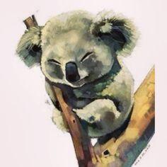 Милашка коала  #art #paper #pen #pencil #pictures #искусство #творчество…