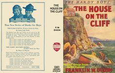 1927 hardy boys the house on the cliff dust jacket - Google Search