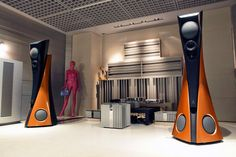 Estelle Extreme speakers with Burmester
