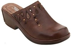 clogs...these are very similar to those that I was wearing when I fell off the school bus!!