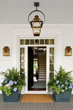Planter Boxes, home entry, container gardening, landscape design, landscape planters