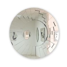 - fractals to distribute light around the room make this mirror unique! Fractals, Decorating Tips, Mirrors, Sweet Home, Candles, Plates, Interior Design, Unique, Room