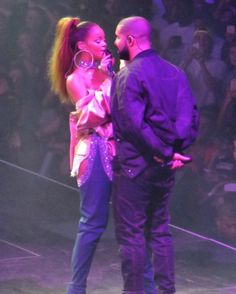 Drake Performs 'Too Good' with Rihanna on the second night of the Summer Sixteen Tour with OVO Fest - August 2016