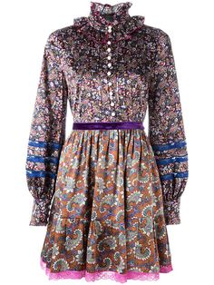 MARC JACOBS Floral Print Dress. #marcjacobs #cloth #dress