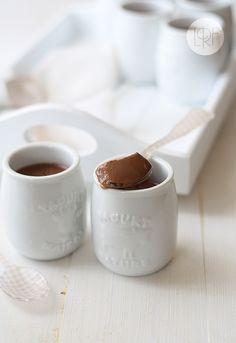 Spanish hot chocolate and chocolate yogurt
