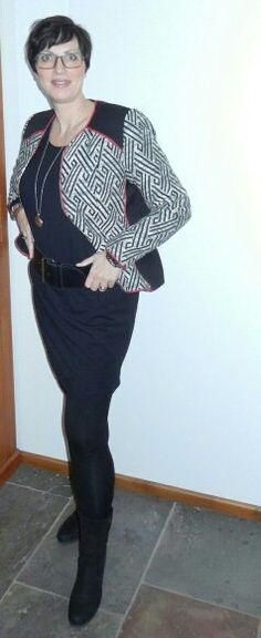 H&M style jasje en jurk