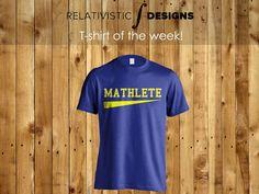 Mathlete t-shirt | T-shirt of the Week
