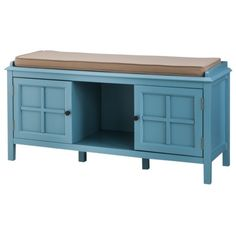 Threshold™ Windham Entryway Bench ok seriously this whole collection in blue or red would be awesome