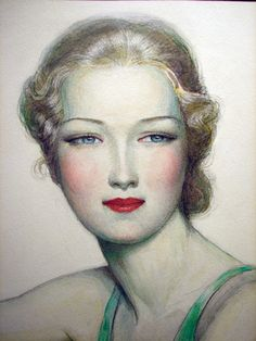 Illustration - 1928 - by Wladyslaw Theodor Benda (Polish-American, 1873-1948) - @Mlle