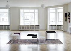 Tray Coffee table - Square - H 40 cm / 40 x 40 cm