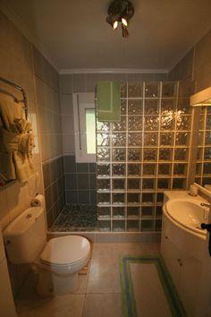 family spanish inspired bathroom