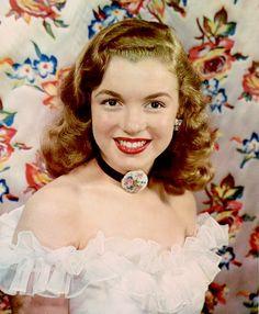 "alwaysmarilynmonroe: "" Marilyn by Richard Miller in 1946.  """