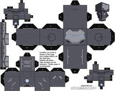 Iron Man MK 2 Cubeecraft
