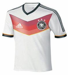 Heimtrikot der Deutschen Nationalmannschaft bei der WM 2014. #DFB #Nationalmannschaft #Fussball #WM #Worldcup