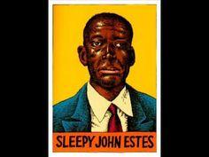 'Down South Blues' SLEEPY JOHN ESTES (1935) Blues Guitar Legend