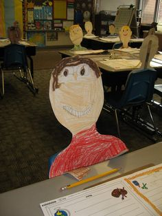 Great idea for back to school night.  have students write a letter to parents about their classroom, teacher, and friends.  display letter on desk and have cutout so parents can find their child's desk.  Jul 16, 2011 - laurel.englum - Picasa Web Albums