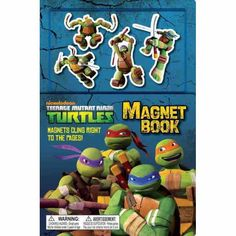 Have a great time with the Teenage Mutant Ninja Turtles.