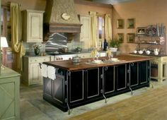 Black Kitchen Islands