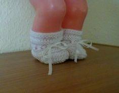 Dukketøj Baby Born strikket sko