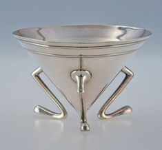 Sugar bowl, Christopher Dresser, ca. 1885.