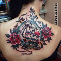 Electric Tattoos | illustratedgentleman: One sit ship in a snow...