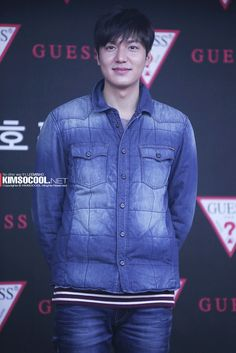 Lee Min Ho at GUESS fan signing event (141017)