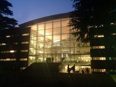 成蹊大学図書館。
