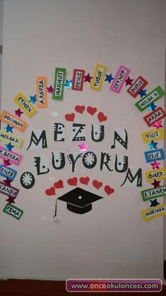 Mezun Oluyorum All Search Engines, Spring Tutorial, Unique Christmas Trees, Nail Tutorials, Being A Landlord, Pre School, Classroom Decor, Preschool Activities, Diy For Kids