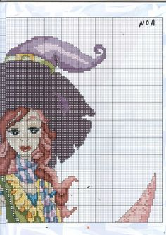 angels, fairies, mermaids and witches cross stitch   Learn craft is facilisimo.com