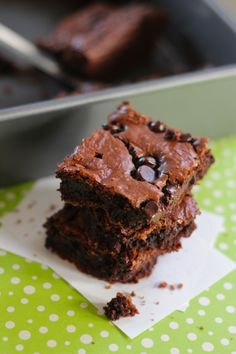 The best gluten free brownies ever!