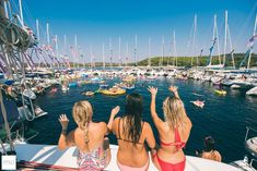 The famous Yacht Week circle raft! Photo by @terryfromtheeast