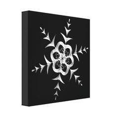 #Silvery #Snowfall at #Midnight Gallery Wrap Canvas...#art  #artwork  #prints  #posters  #RoseSantuciSofranko #Artists4God    #Artist4God  #InteriorDecoration  #InteriorDecorating  #home   #InteriorDesign  #Zazzle  #homedecor   #wrappedcanvas  #custom    #customizable #Winter #seasons #black #Christmas #Hanukkah
