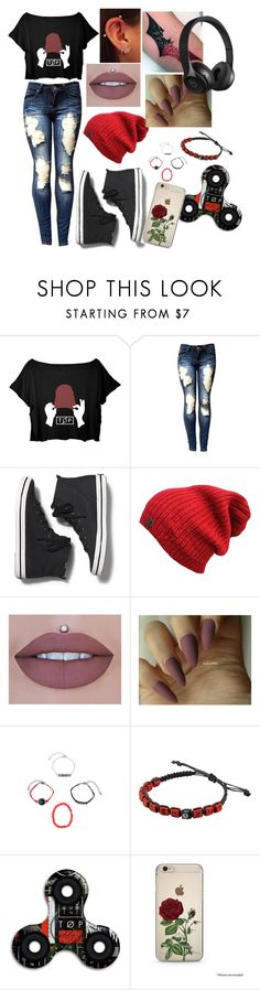 """TWENTY-ONE PILOTS❤️🖤❤️🖤❤️🖤❤️"" by bunny05 on Polyvore featuring Keds, Hot Topic and Beats by Dr. Dre"