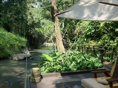 Luxurious Holidays at Maya Ubud Resort & Spa Bali Ubud Resort, Resort Spa, Tropical Paradise, Tropical Garden, Maya, Eco Architecture, Thatched Roof, China, Leaf Design