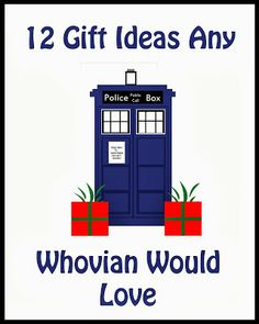 12 Gifts any Whovian Would love - Perfect gifts for the Doctor Who fan in your life.