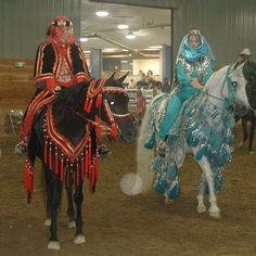 Kelly organized all Arabian Costume horses -- outfits 4 out of 5 of the horses in the presentation! Description from knrarabians.com. I searched for this on bing.com/images